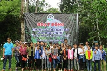 Phong Nha - Kẻ Bàng: Dã ngoại giáo dục thiên nhiên và đa dạng sinh học cho học sinh vùng đệm Vườn quốc gia